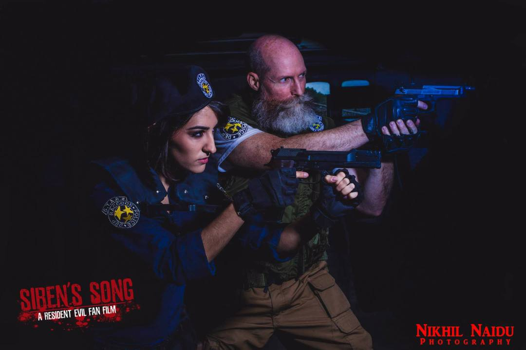 Siren's Song promo still of Shane Maus and Jill Valentine, played by Micaela Rubio